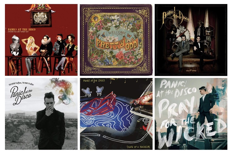 Panic! At the Disco is Strangely Consist (for a band that lost 90% of its members) – DiscographyDeconstruction