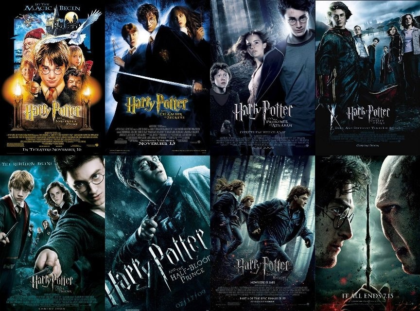 My Ranking of the Harry Potter Saga