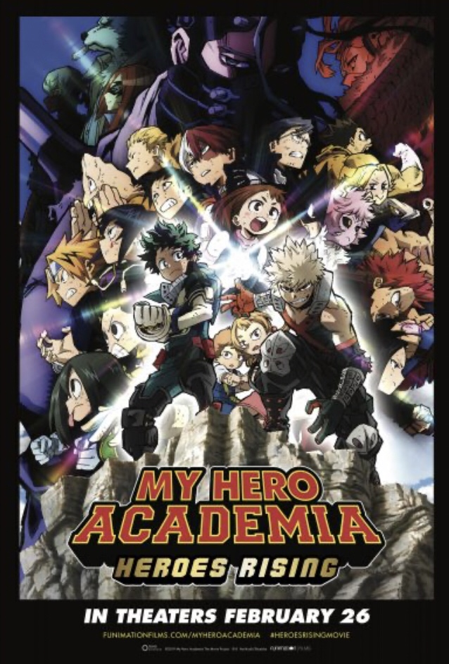 My Hero Academia: Heroes Rising is a good Arc of the Series (aReview)