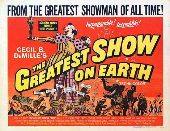 The Greatest Show on Earth (1952) Review