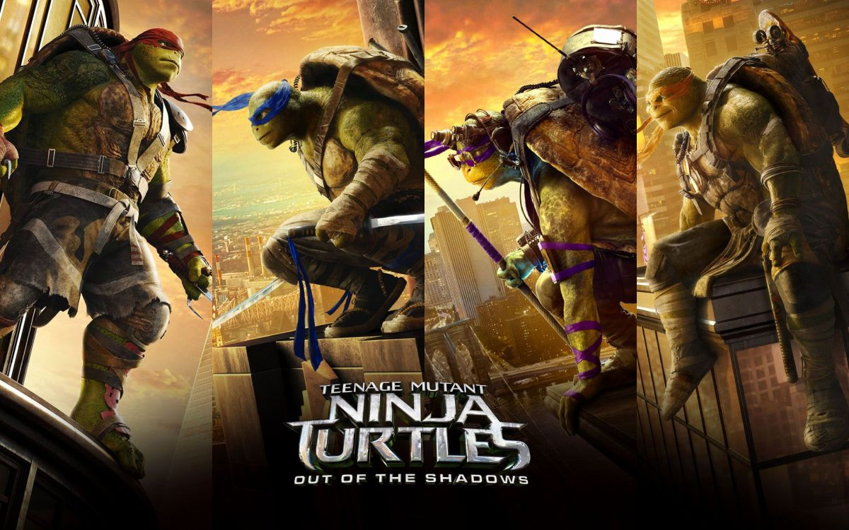 Teenage Mutant Ninja Turtles: Out of the Shadows (2016)Review