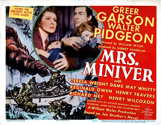 Mrs. Miniver (1942) Review