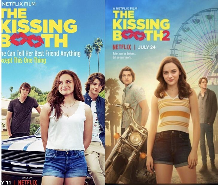 Two Trips to The Kissing Booth (a Review of The Kissing Booth 1 and2)