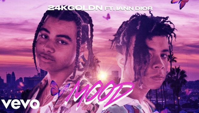 Hot 100 Review: Mood by 24kGolden (feat. Iann Dior)