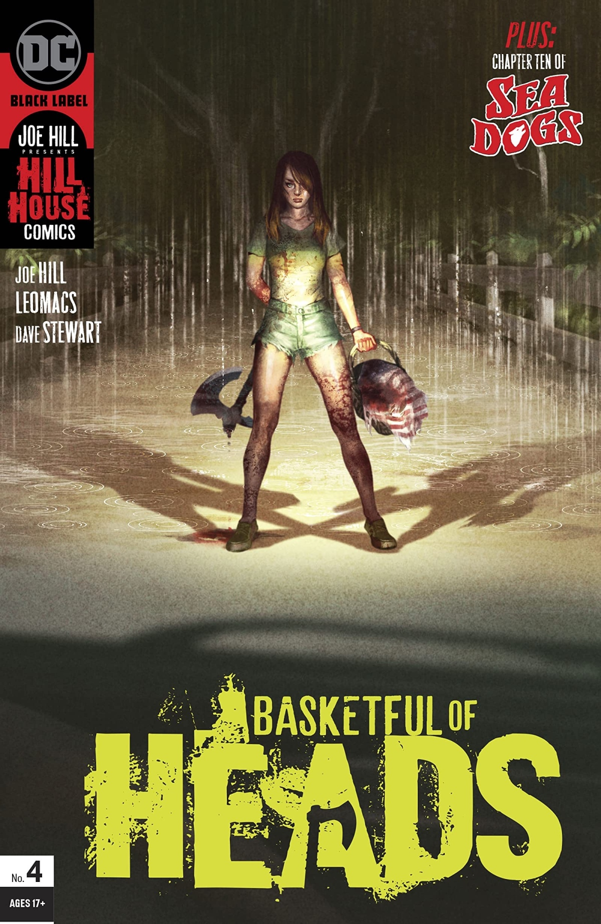 Basket Full of Heads will Roll (a ComicReview)